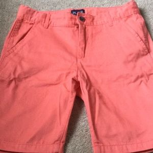 Children's Place flat front coral shorts. Size 8H